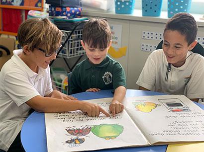 St Fidelis multi age student classes